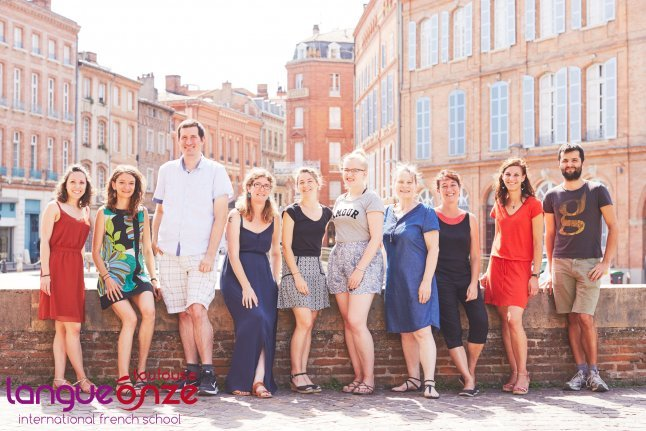 Our french language school - Langue Onze Toulouse