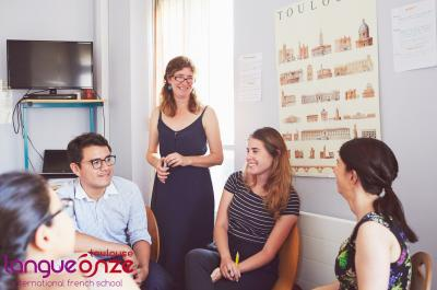French Courses in France - Classroom